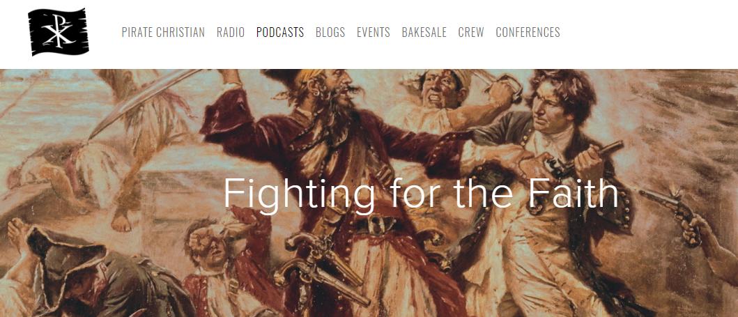 Fighting for the Faith logo